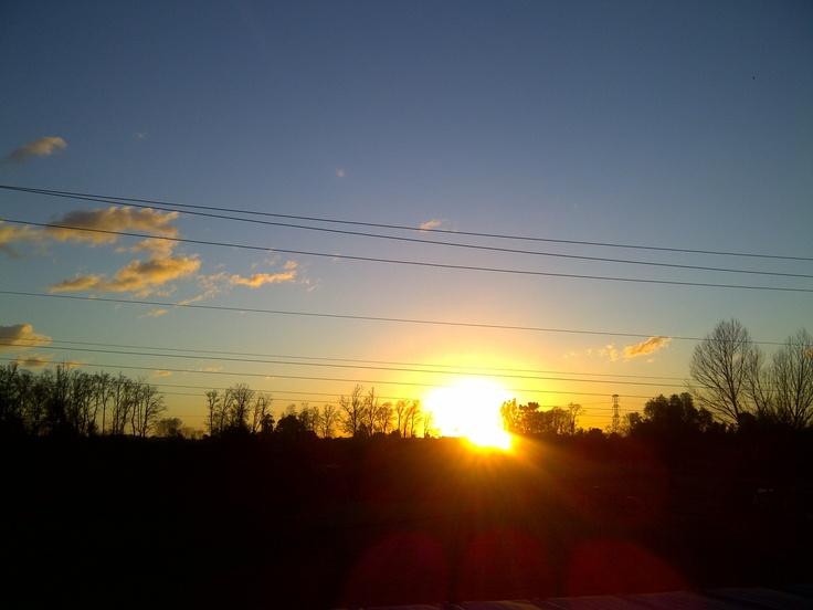 Puesta de sol desde Quepe
