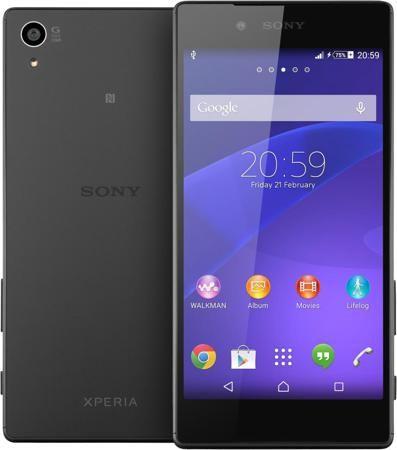 Sony Xperia Z5 (черный)  — 29990 руб. —  ОСТАНОВИСЬ, МГНОВЕНЬЕ, ТЫ ПРЕКРАСНО С Sony Xperia Z5 вы никогда не пропустите удачный кадр. Этот смартфон с замечательной камерой, оснащенный гибридной автофокусировкой, поразит вас быстротой и четкостью съемки. А благодаря матрице 23 Мп и пятикратному масштабированию вы сможете запечатлеть даже самые мимолетные мгновения – четко и с первой же попытки. ГИБРИДНЫЙ АВТОФОКУС Камера Sony Xperia Z5 имеет сверхбыструю автофокусировку (0,03 сек.), что…