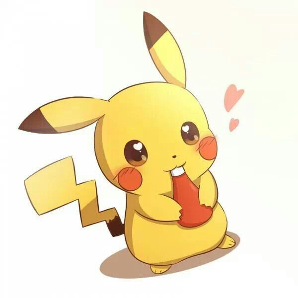 Pikachu ♥ Ketchup lol #PokeMon | Cuteness | Pinterest ...