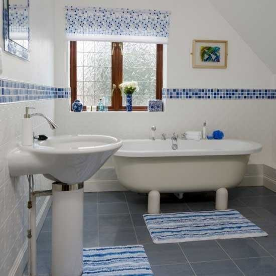 Bathroom Tile Ideas Blue 31 best interior design, master bath images on pinterest