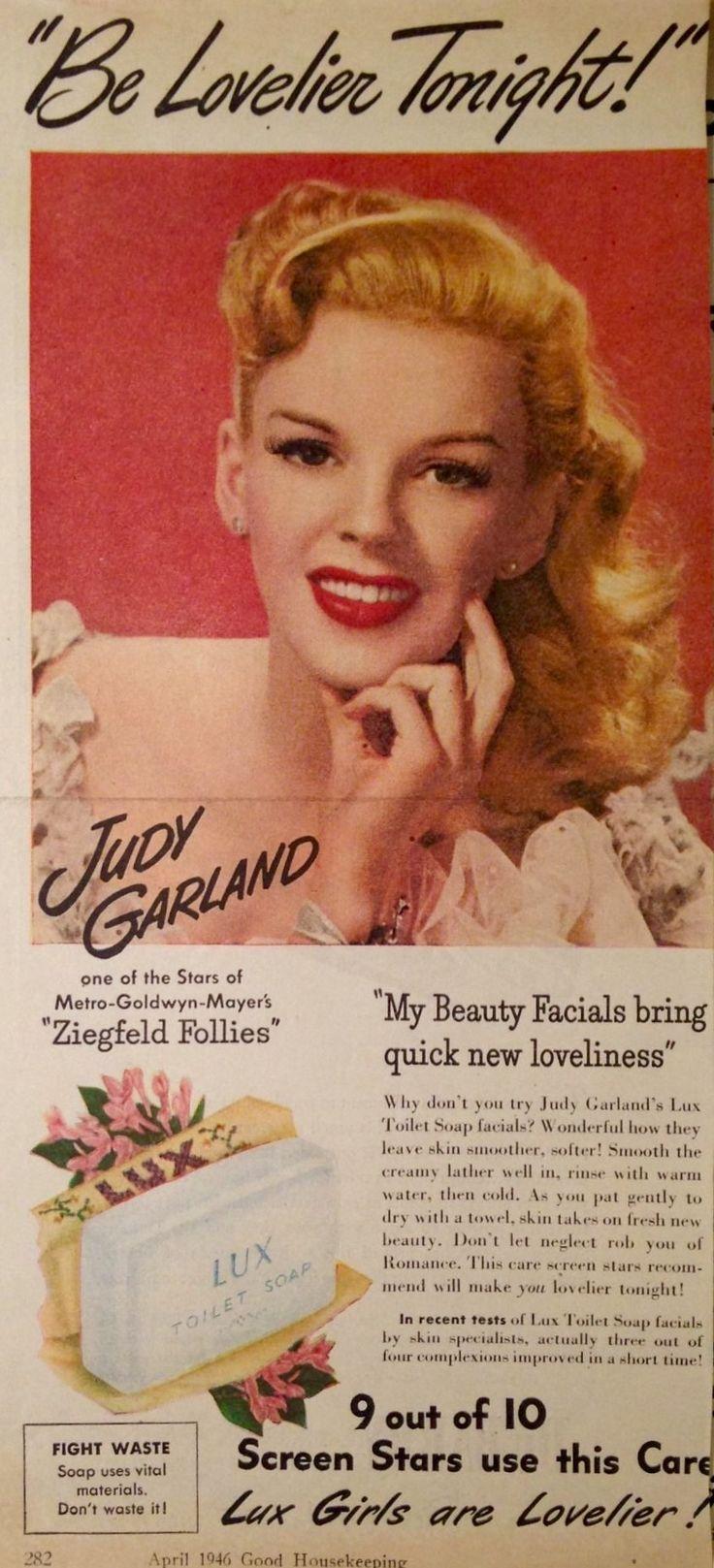 Judy Garland ad