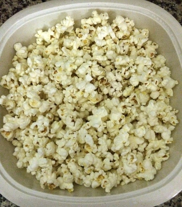 Momhack: Use a bowl specifically made for microwave popcorn