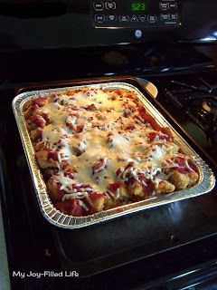 Easy Chicken Parm Casserole with Frozen Chicken Tenders - My Joy-Filled LIfe