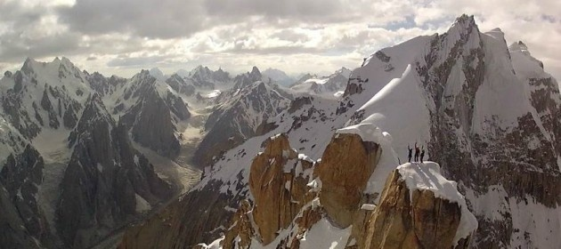 Mammut 150 Years - Peak Project - Trango Tower, Pakistan (6286m - 20,623ft) - RC Helicopter Sample Footage