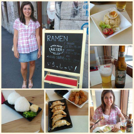 Roma, 02/09/2016 Altra mangiata al Ramen Bar Akira! :D  - Potate Salad (pure' di patate con uovo sodo e carne) - Birra Asahi - Gyoza (ravioli fritti) - Karage (coscia di pollo fritta) - Onigiri (polpetta di riso)  Pictures © Elena Paoletta #cucinagiapponese #potatosalad #onigiri #gyoza #karage #birra #asahi #ramenbar #cibo #food #giappone #love