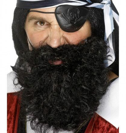 Let's Party With Balloons - Smiffy's Pirate Beard, $10.00 (http://www.letspartywithballoons.com.au/smiffys-pirate-beard/)