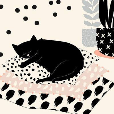 print & pattern: CARDS - susan driscoll for black olive