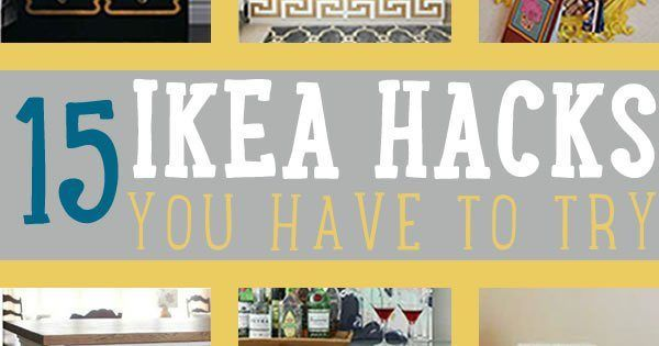 Love IKEA furniture? You'll surely love these IKEA hacks we have for you. These IKEA furniture hacks will surely have you going to the nearest IKEA store. #cooldiyprojects #craftprojects #diy