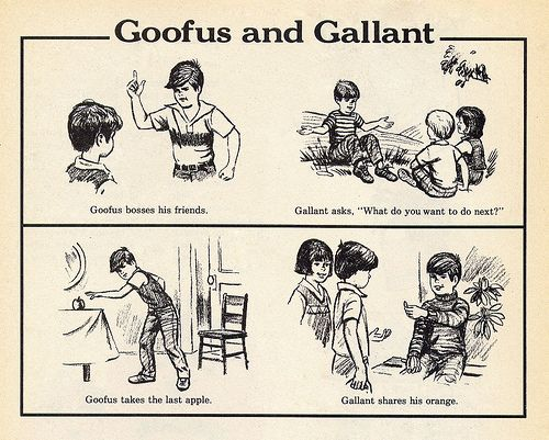 Goofus and Gallant --A regular feature in Highlights magazine.: Reading, Remember This, Gallant, Highlights Magazines, Stuff, Blast, Childhood Memories, Goofus, Dentists Offices