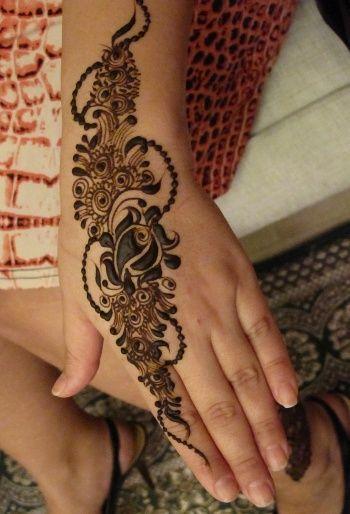 Henna Tattoo Yuba City : Henna designs easy inside hand makedes