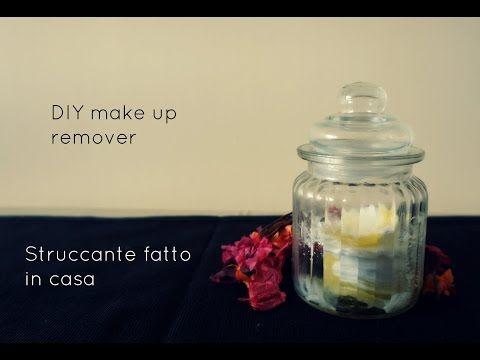 Struccante fatto in casa, ingredienti naturali per pelli sensibili e occhi sensibili - YouTube