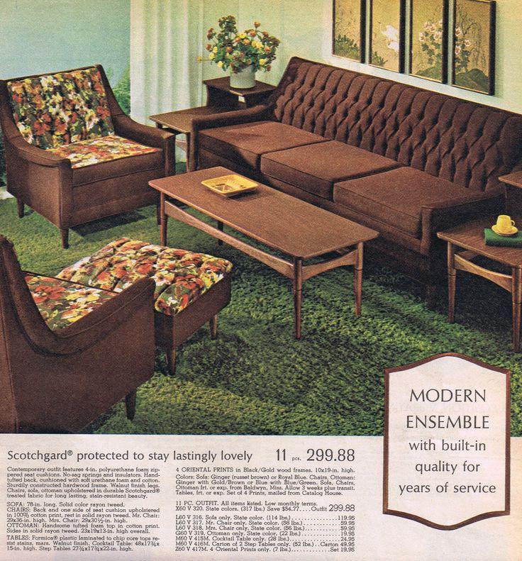 MCM Living Room Suite