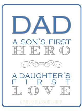 Pin Love: Celebrating Dad. @Shelly Ruggiano frame this for J!