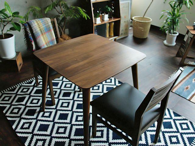 ダイニングテーブル/正方形 Tomte(トムテ)|家具・インテリア通販 kirarioインテリア