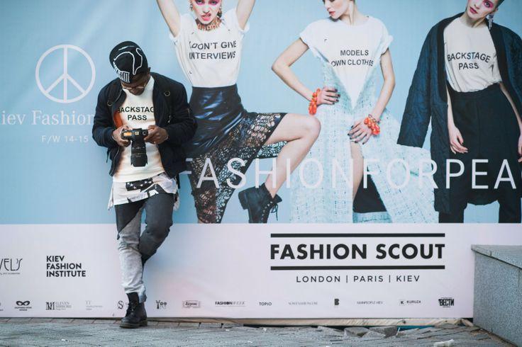 Taking It to the Streets in Ukraine  - Kiev Ukraine Fashion Week Fall 2014 Street Style.