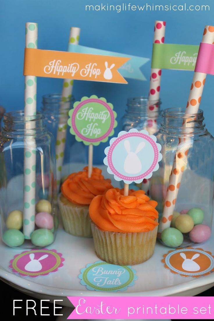 Making Life Whimsical: Free Printable Easter Set!