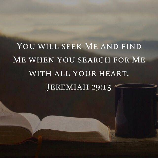 Jeremiah 29:13 | Jeremiah 29 13, Jeremiah 29, Bible words