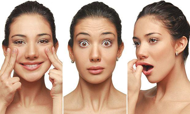 Não tenha medo de cara feia! Exercícios faciais fortalecem a musculatura e previnem os sinais do tempo.