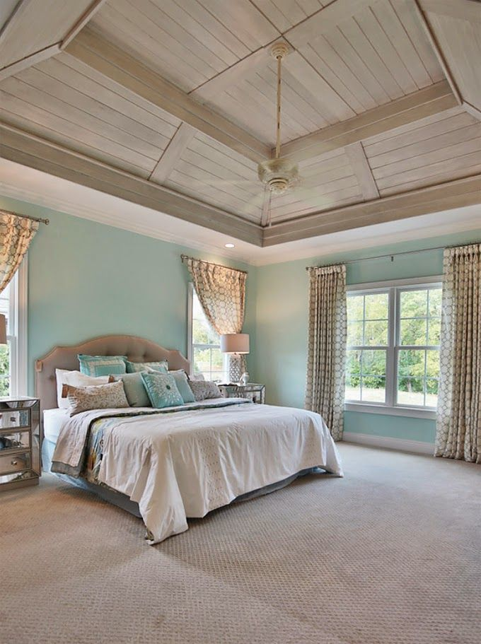 House Of Turquoise: Set The Stage   Turquoise Bedroom