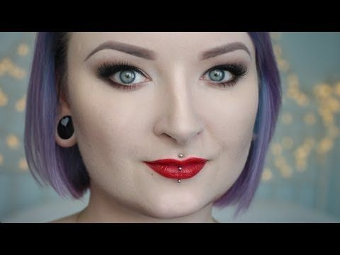 "Angelina Jolie ""Maleficent"" Make up tutorial ★ Red Lipstick Monster ★ - YouTube"