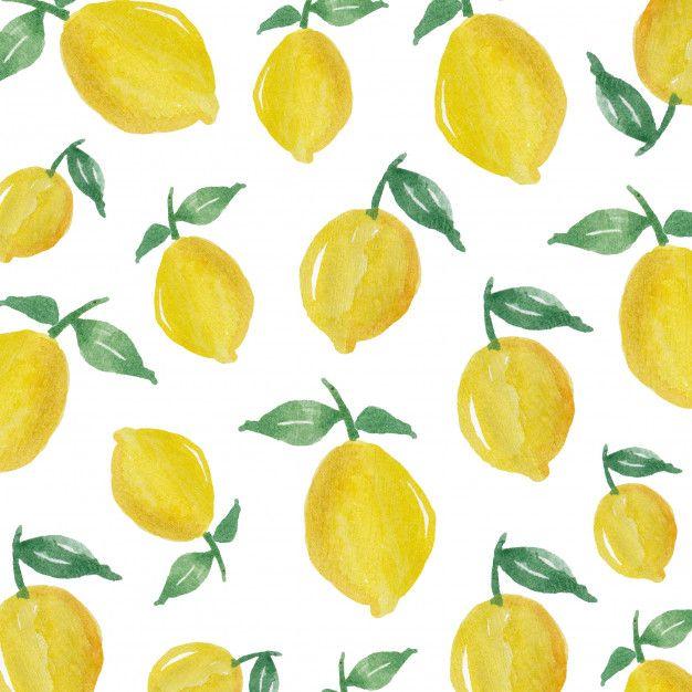 7aa48271e Watercolor Lemon Fruit Background. Download thousands of free vectors on  Freepik