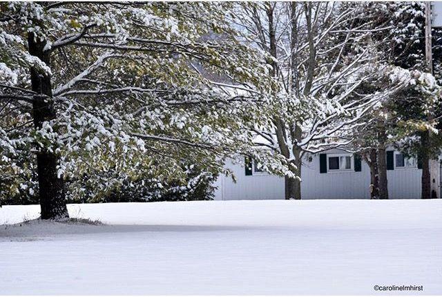 #Winter is here! #Getaway to #RicelakeON. #cottage #rentals #ontario #resort #elmhirstsresort