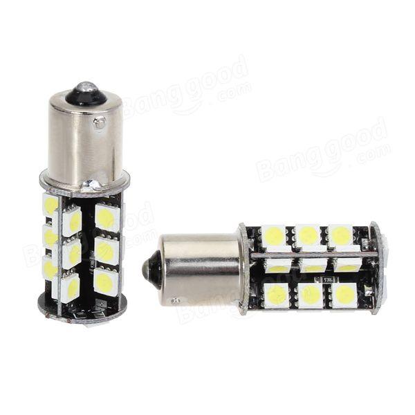 Us 4 49 10 1156 Ba15s 5050 Led Car Turn Signal Lights Brake Bulb 12v 7w Warm White 1pcs Car Lights From Automobiles Motorcycles On Banggood Com