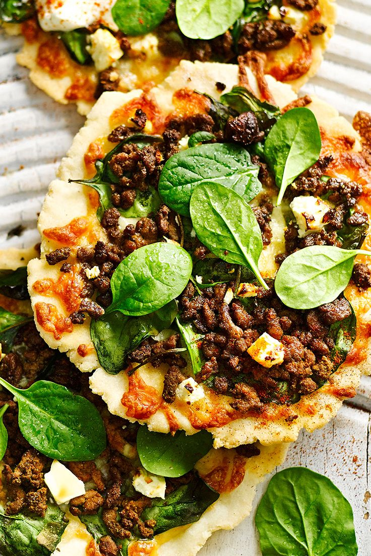 Packed full of flavour and spice, this Moroccan style lamb pizza is perfect for lunch - They'd also make great party and picnic food.