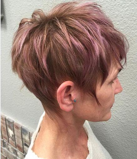 25 stili di capelli corti per over 50 da non perdere ...