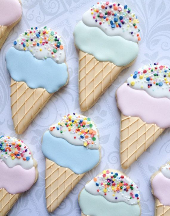 This listing is for one dozen delicious decorated sugar cookies approximately 4 tall. You will receive 12 assorted pastel colors.    Made with