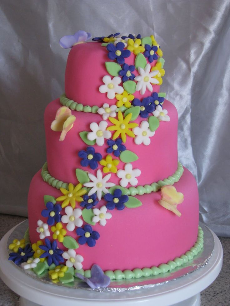 Girls Birthday Cakes  1St Birthday Cakes For Girls, Designs And Ideas -8425