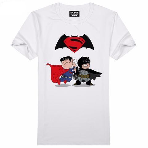Batman vs Superman Cartoon Men/Women Tee - Foundry 1st