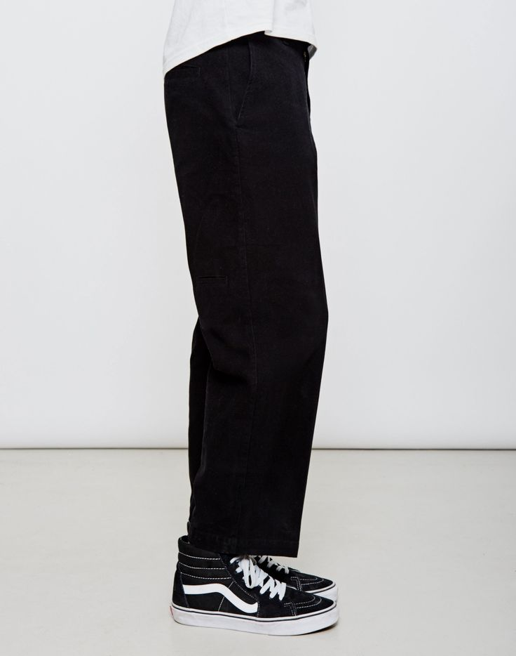 NEW IN | Soulland Marchionne Workwear Trousers in Black - £119.90 | Shop Now #StyleMadeEasy