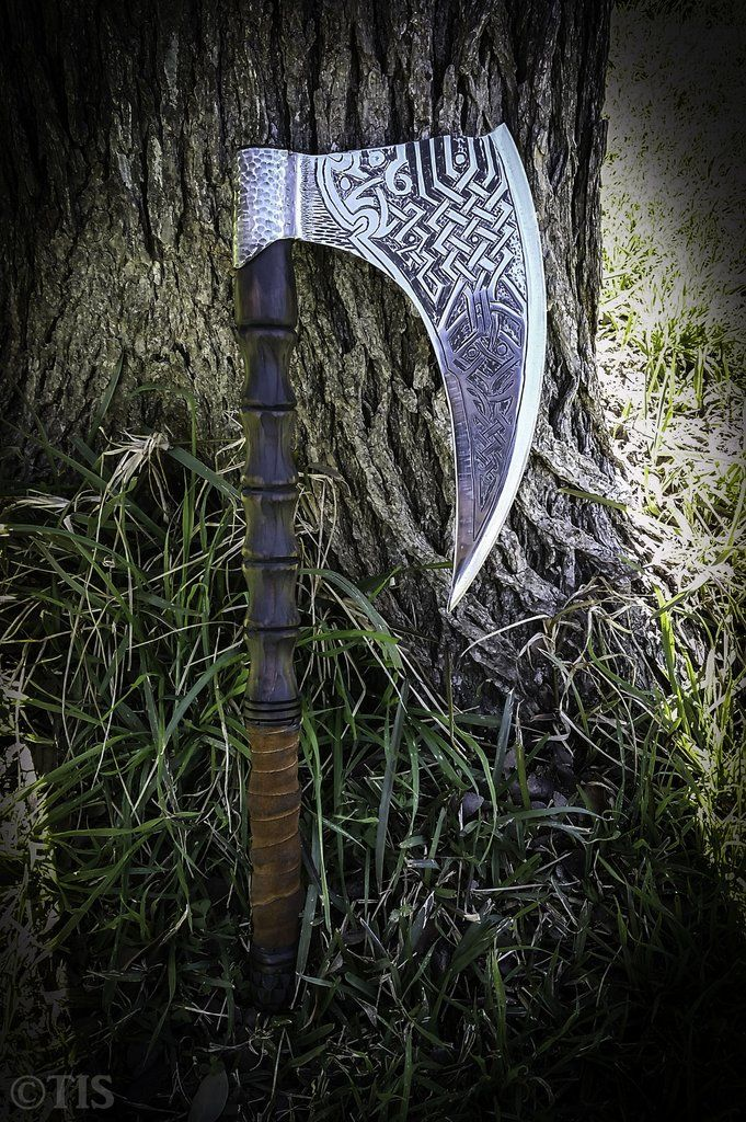 TREE OF LIFE Viking Battle Axe