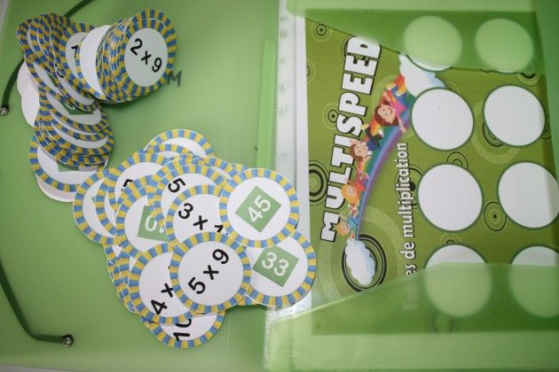 Jeu tables de multiplication : MULTISPEED                                                                                                                                                                                 Plus