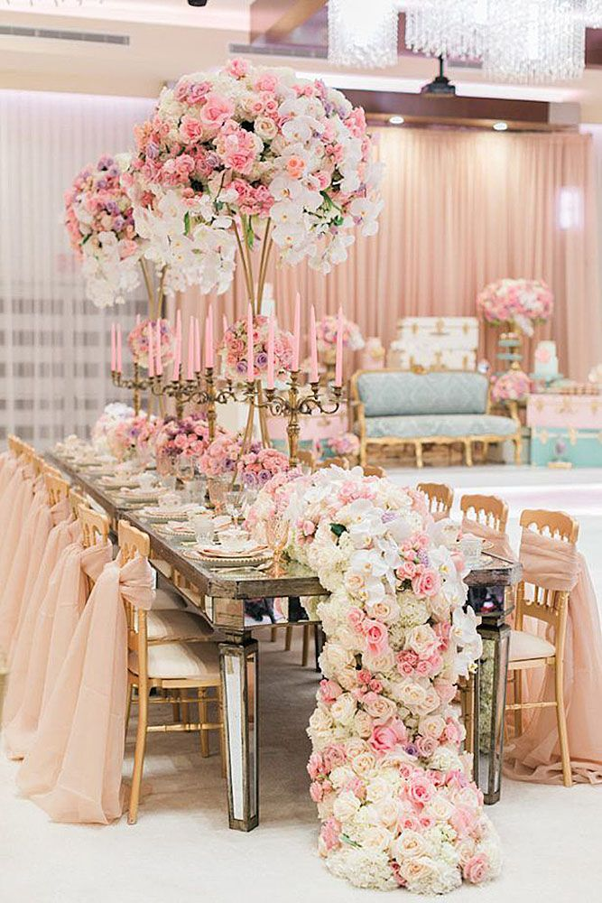 42 Glamorous Rose Gold Wedding Decor Ideas Pink Gold Wedding