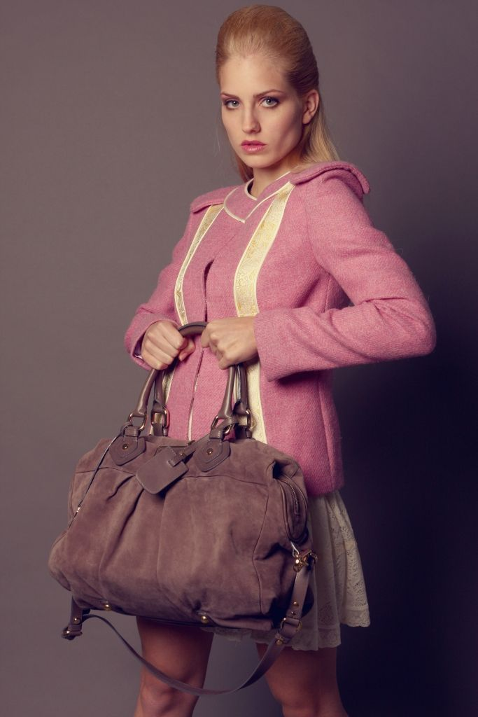 Pink wall jacket with silk lining and real gold embroided silk. #advisemystyle