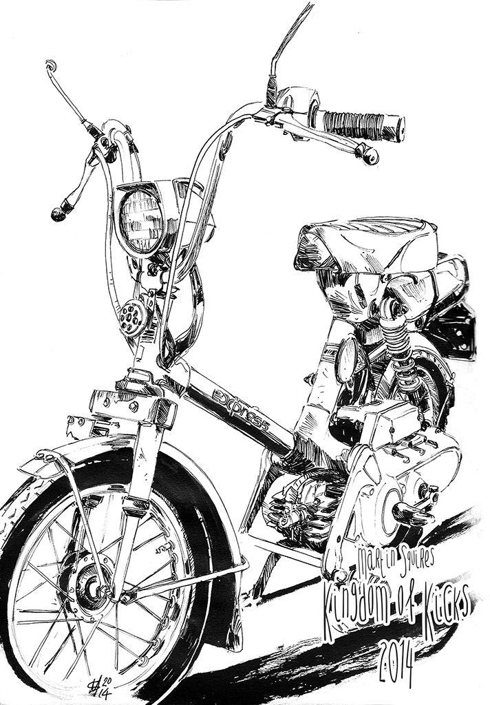 50 best honda express motorscooter images on pinterest