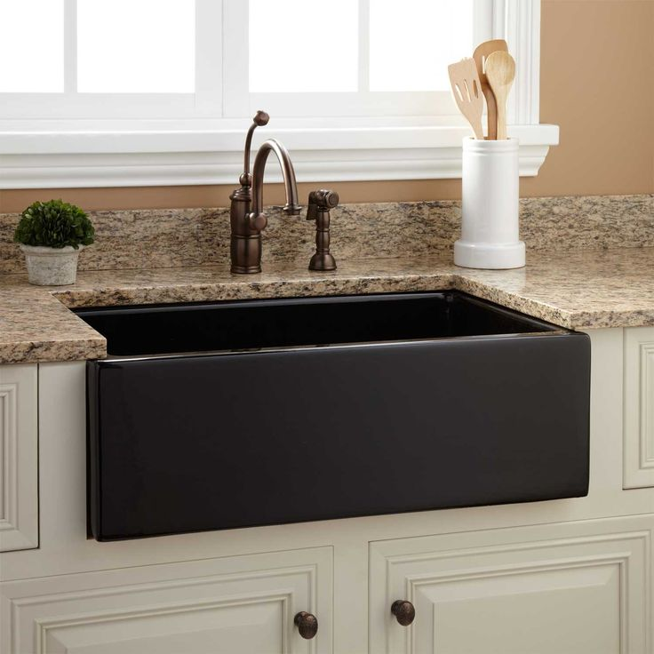 Black Sink For Kitchen: Best 25+ Black Farmhouse Sink Ideas On Pinterest