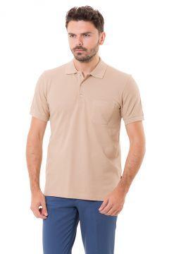 Karaca Erkek Regular Fit Pike T-Shirt - Bej https://modasto.com/-/erkek-ust-giyim-t-shirt/br3019ct88