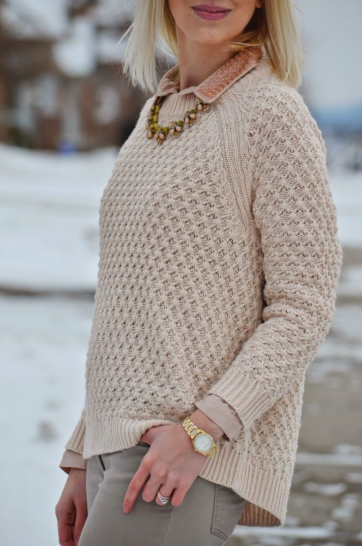 winter pastel color style