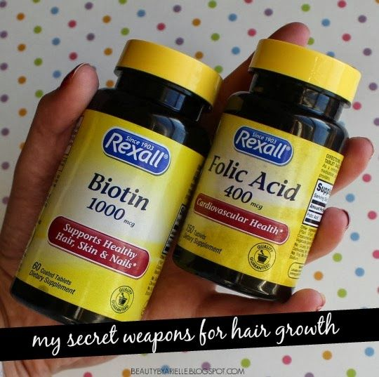 Beauty by Arielle: Biotin + Folic Acid: My Secret to Hair Growth