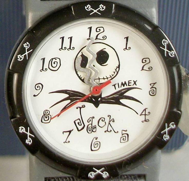 Timex Nightmare Before Christmas Watch! New! Unique!