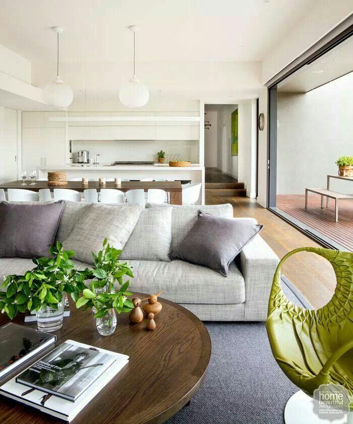 Indoor-outdoor living. Home Beautiful Magazine Australia.