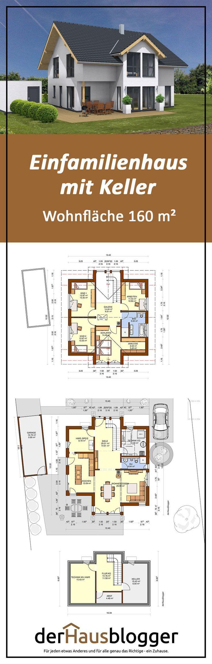 Bei diesem Entwurf über ein ca. 160 m² großes S…