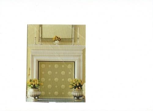 Fireplace Cover Diy Pinterest