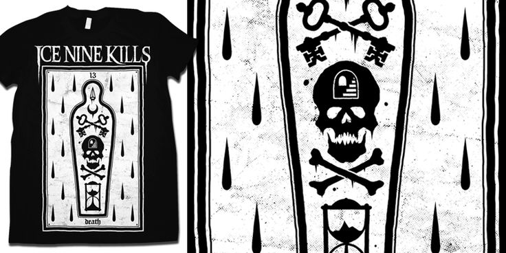 """Ice Nine Kills - 13"" t-shirt design by drop"