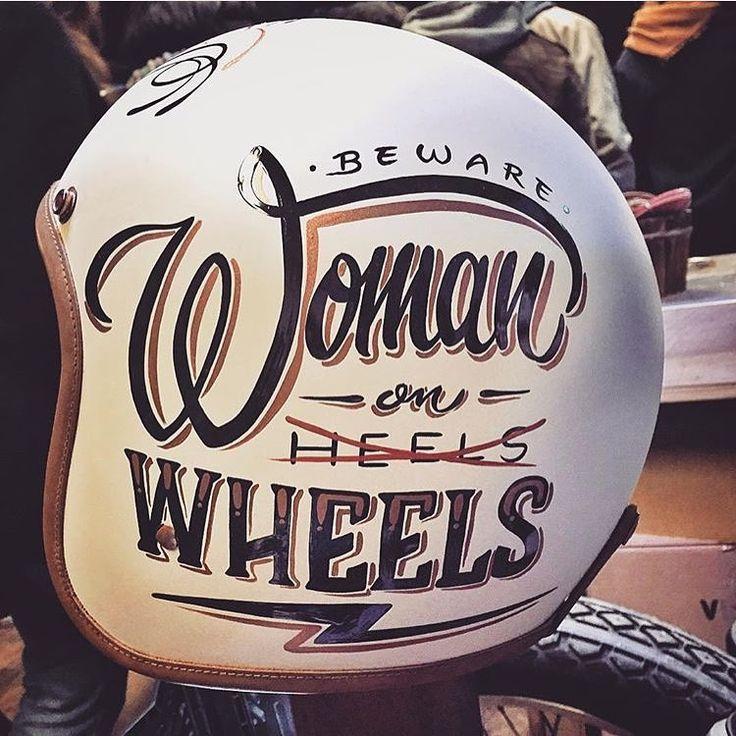 Elegant-Apparatus - @brusco artwork on @hedonworkshop helmet...