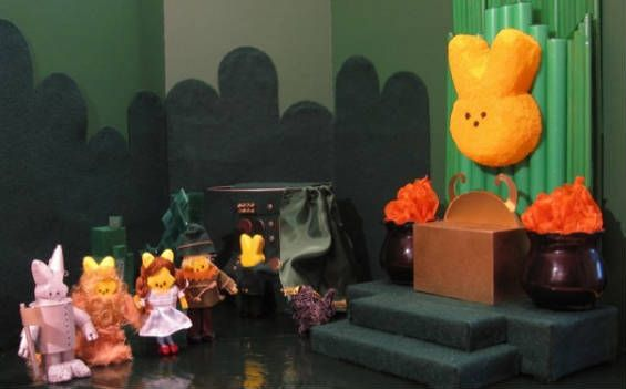 Sixth annual Peeps Show diorama contest - The Wizard of Oz