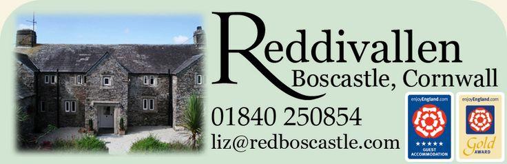 Reddivallen, Quality Bed and Breakfast in Boscastle, Cornwall, near Tintagel